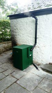 New oil boiler