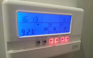 installed heating control