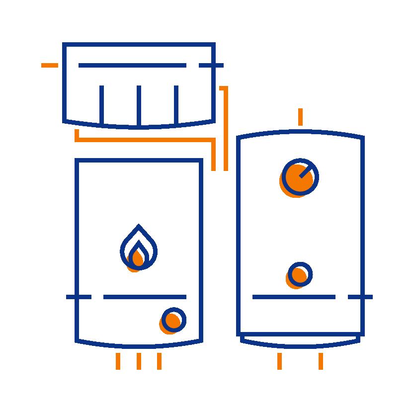 boilerhut standard conversion to combi boiler installation
