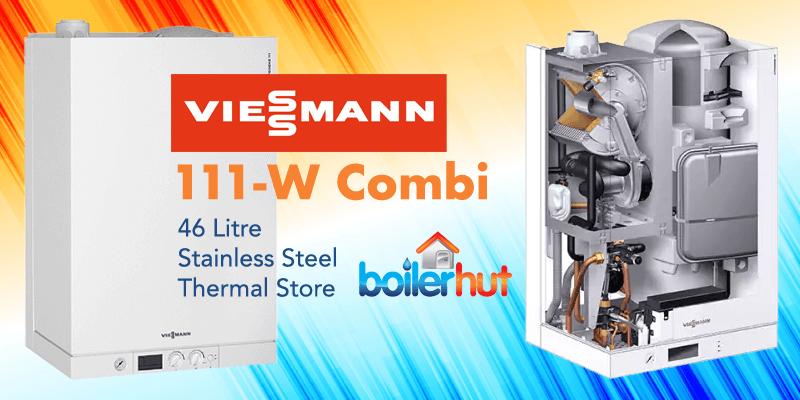 combi boiler with tank, viessmann 111-w