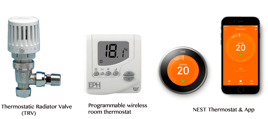 save money on energy bills, smart heating controls
