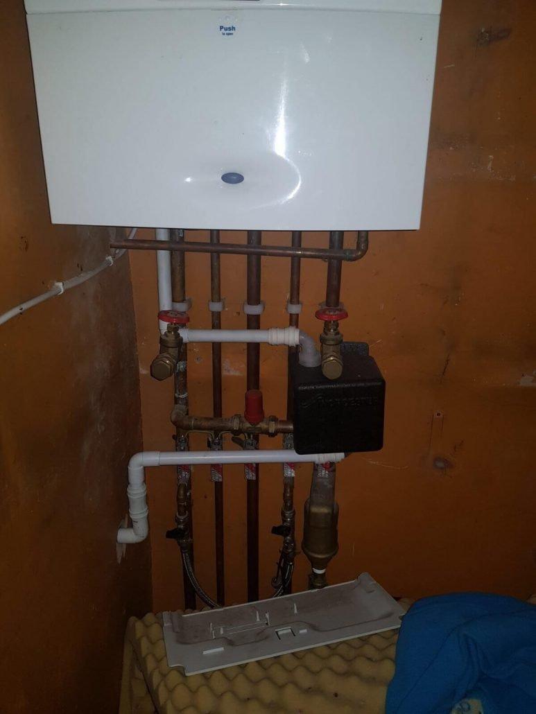 existing boiler photos