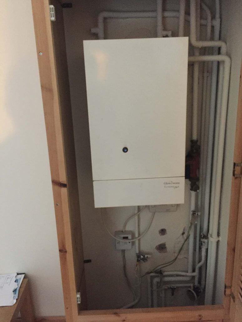 boiler installation photos