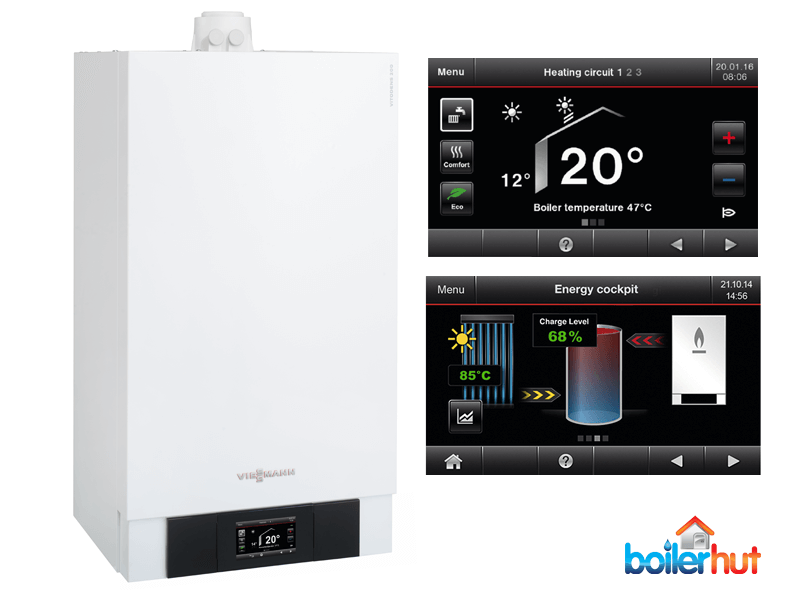 most efficient combi boilers, viessmann vitodens 200-w
