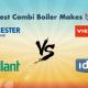 combi boiler makes