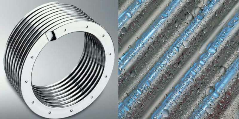 Viessmann's patented Inox-Radial stainless steel heat exchanger