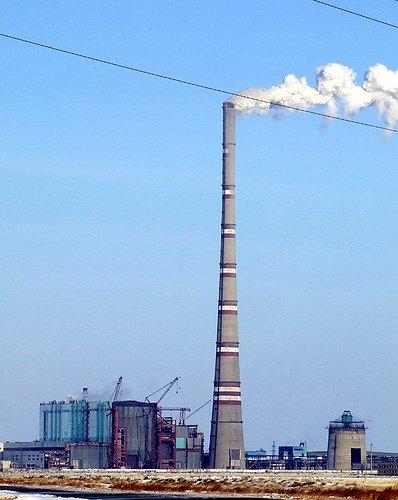 high boiler flue