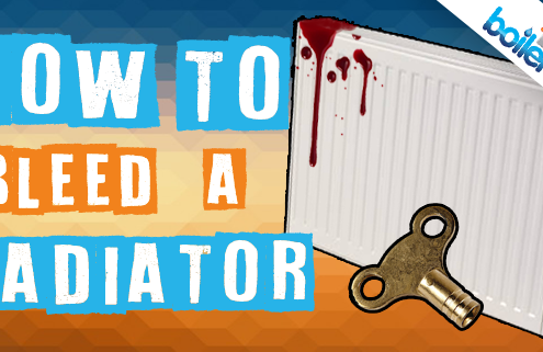 radiator bleed how to