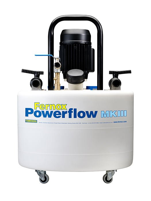 power flush used to clear out your radiator