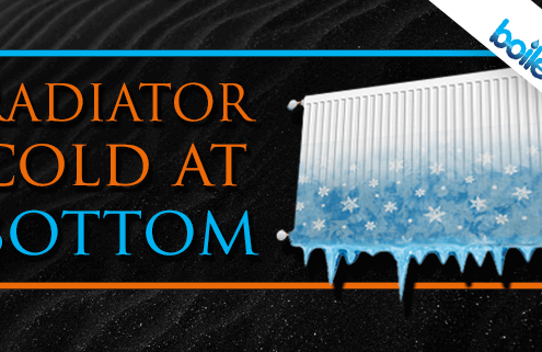 radiator cold at bottom banner image