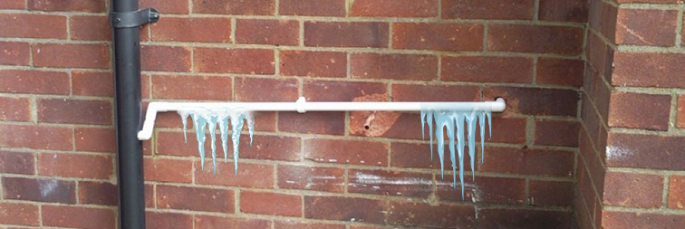 frozen condensate pipe common boiler problems