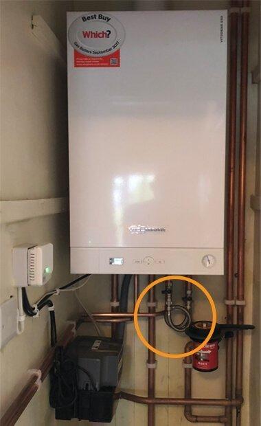 Boiler Filling Loop location