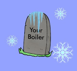 May your old broken boiler rest in peace!