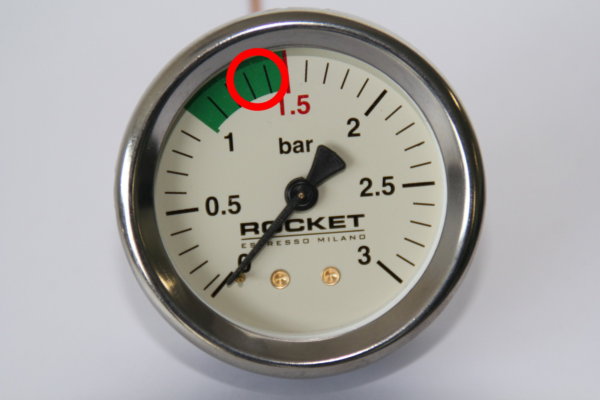 The pressure gauge can help you identify why you have a boiler leaking water
