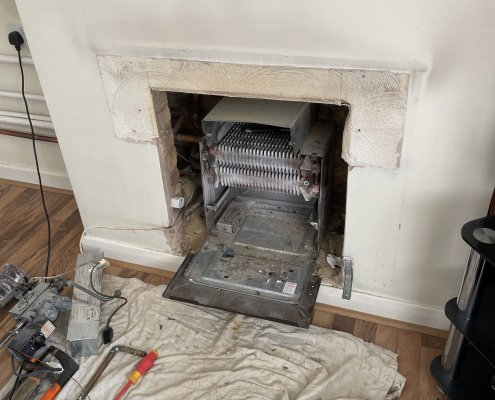 Back Boiler Replacement